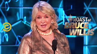 Martha Stewart Lays Into the Dais - Roast of Bruce Willis
