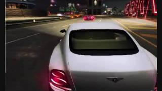 NFS Underground 2 Car mod Bentley Continental SuperSports