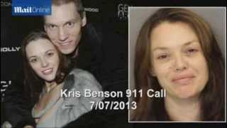 Kris Benson calls 911 after estranged wife shows up with gun