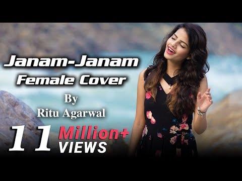 Janam Janam - Female Cover by @VoiceOfRitu | SRK | Kajol | Arijit Singh | Dilwale