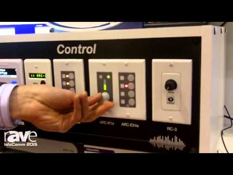 InfoComm 2015: Symetrix Highlights ARC Series of Control Solutions