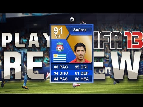 FIFA 13 - TOTS SUAREZ Review - Is he all bark and no bite?
