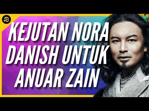 Anuar Zain Cium Tangan Nora Danish Kejutan di Konsert Anuar Zain Tiga Dekad