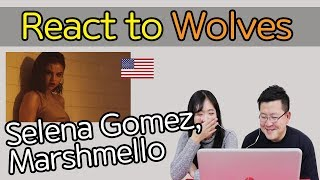 Download Lagu Selena Gomez, Marshmello - Wolves Reaction [Koreans React] / Hoontamin Gratis STAFABAND
