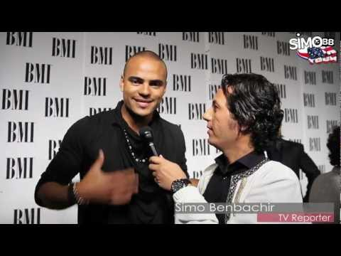 Mohombi @ BMI Awards 2012 @ Los Angeles - Interview avec Simo Benbachir