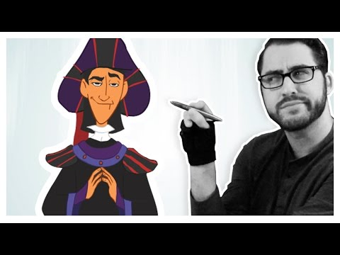 Drawing Disney Characters Cosplaying as Other Disney Characters