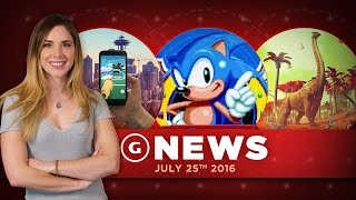 Pokemon Go Team Leaders, Sonic Mania, and No Man's Sky Details... - GS Daily News