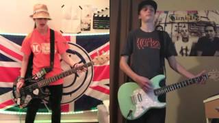 blink-182 Bored To Death guitar and bass cover