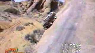SICK off-road down hill crash