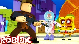 Roblox Adventures / Terror in Bikini Bottom Ep 3 / ZOMBIE SPONGEBOB & EVIL SANDY ATTACK!