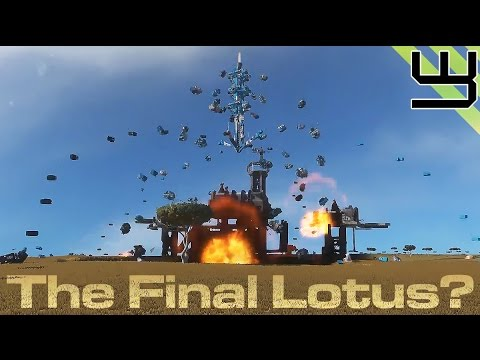 Space Engineers - The Final Lotus? Planetary Cluster Launcher