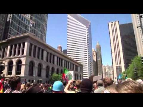 Chicago Police: 90 Arrested in NATO Protests