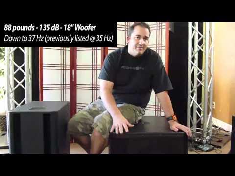 QSC KSub vs KW181   agiprodj.com