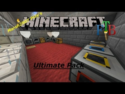 FTB Minecraft Ultimate Mod Pack #13 (Recipe Changes)