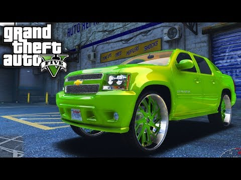 Chevy Avalanche on 30s! GTA 5 Real Life Mod #93 (Real Hood Life 3)