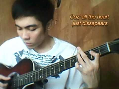 Fixing a Broken Heart (fingerstyle guitar cover) w lyrics