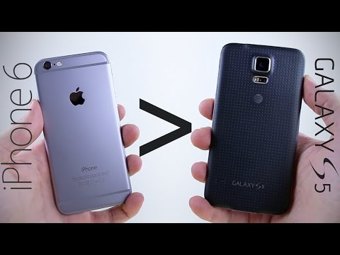 25 Reasons Why iPhone 6 Is Better Than Galaxy S5