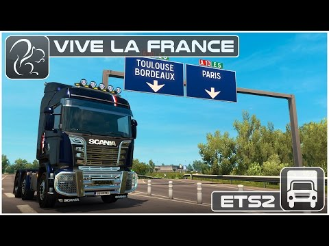 Vive la France DLC (Euro Truck Simulator 2)