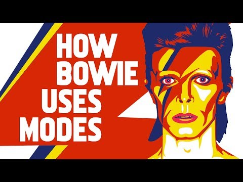 How David Bowie uses Modes