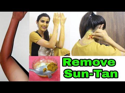 सनटैन कैसे हटाएं   Remove SUNTAN, Face,Hands, Neck,Full Body   100% Effective