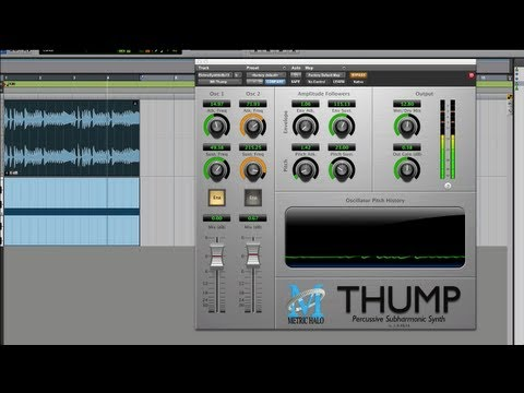 Show And Tell Review Of Metric Halo Thump - FREE AAX Plug-In