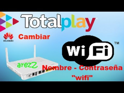 Router HG8245H Totalplay   Cambiar red wifi   IP   [[HD]]