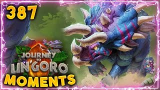 Amazing Rogue Combo..!! | Hearthstone Un'Goro Daily Moments Ep. 387 (Funny and Lucky Moments)