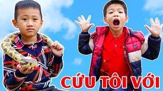 Trò Chơi Người Anh Gian Ác Và Con Rắn Thần - Bé Nhím TV - Đồ Chơi Trẻ Em Thiếu Nhi
