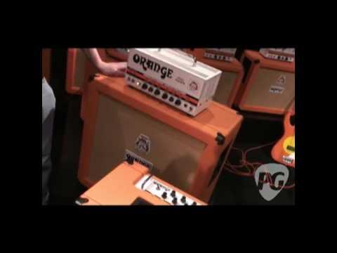 NAMM '10 - Orange Amps Rockerverb 50 MKII & Thunder 30 Demos, 4x10 Cab & More