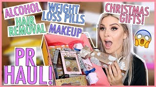 BIGGEST FREE PR HAUL YET 😍🔥🗯 (I'm Serious... WOW)