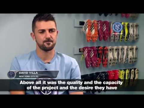 David Villa: New York City FC