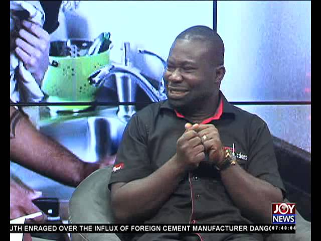 My Banner - AM Show on Joy News (27-11-15)