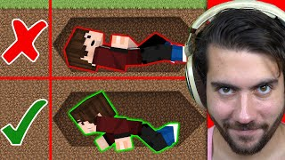 I Burried My Subscribers Alive for $20,000 in Minecraft