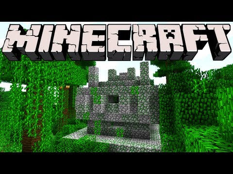 Minecraft 1.3 Snapshot - Jungle Temples and Tripwires
