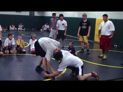 Angel Cejudo High Crotch Freestyle Folkstyle Wrestling Technique Image 1