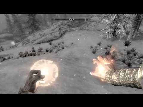 Skyrim Glitch - Infinite Magicka