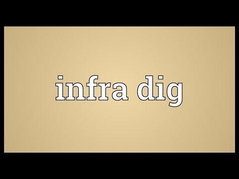 Header of infra dig