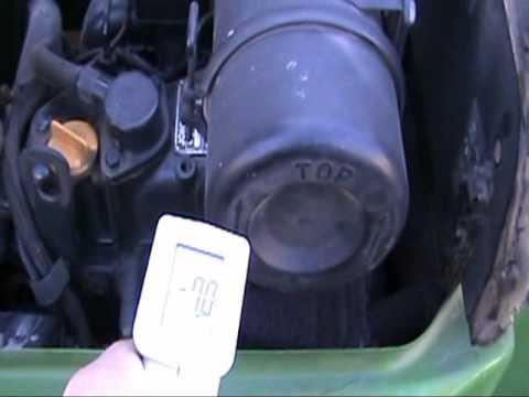 John Deere Diesel Tractor Cold Start