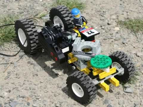 Lego Technic Rally - Rally Kopec