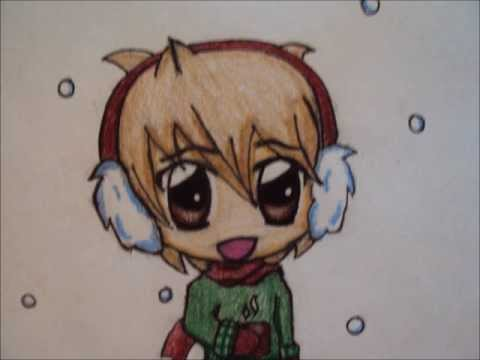 Cute Chibi Boy Drawing How to Draw a Winter Chibi Boy