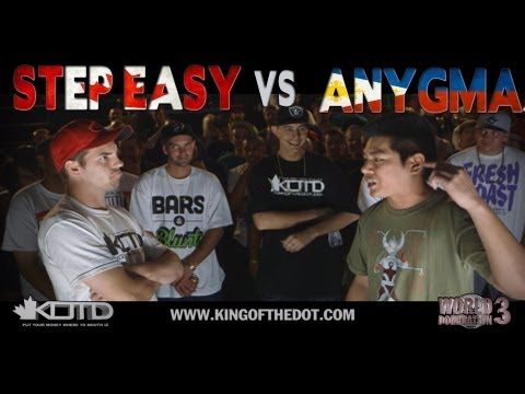 KOTD - Rap Battle - Step Easy vs Anygma (CANADA VS PHILIPPINES)