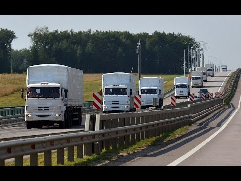 Russian Military Convoy Headed To Eastern Ukraine