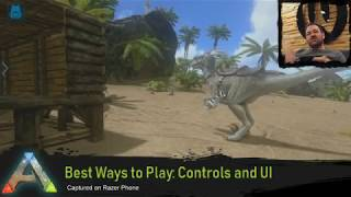 Best Ways to Play: Controls and UI (ARK: Survival Evolved Mobile)