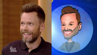 Cartoon Ryan Looks like Joel McHale