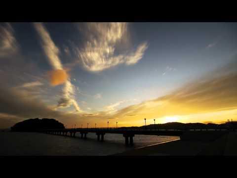 竹島の夕日