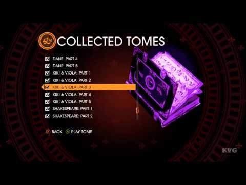 Saints Row: Gat out of Hell - All Kiki & Viola Audio Tomes [HD]