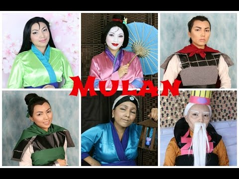Disney's Mulan Makeup Tutorial