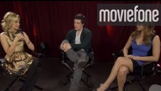 """Peeta and Katniss Nicknames, """"Hunger Games"""" Unscripted 