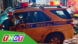 Đình chỉ công tác cán bộ lái xe CSGT gây tai nạn ở Bình Dương | THDT