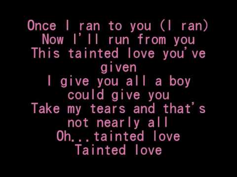 Tainted Love - SoftCell [Lyrics]